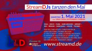 StreamDJs tanzen den Mai